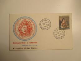 29.12.1960 Michelangelo Meris Caravaggio L.200 Su FDC Originale - Storia Postale