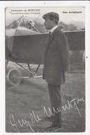 CPA AVIATION Nos Aviateurs Lieutenant De Montjou - Aviadores