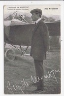 CPA AVIATION Nos Aviateurs Lieutenant De Montjou - Aviatori