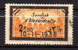 Col 14 /  Alexandrette N° 15 Oblitéré  Cote   30,00 € - Alexandrette (1938)
