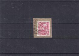 Autriche - Liechtenstein - Michel 144 X  - Oblitération De Schaan De 1913 - Sur Fragment - Liechtenstein