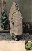 TUNISIE - JUIVE COSTUME DE VILLE - Tunisie