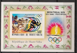 Haute Volta - 1975 - Bloc Feuillet BF N°Yv. 5AL - Olympics / Montreal - Non Dentelé / Imperf. - Neuf Luxe ** / MNH - Estate 1976: Montreal