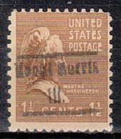 USA Precancel Vorausentwertung Preo, Locals Illinois, Mount Morris 505 - United States