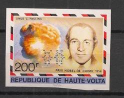 Haute Volta - 1977 - N°Yv. 431 - Linus Pauling - Non Dentelé / Imperf. - Neuf Luxe ** / MNH / Postfrisch - Premio Nobel