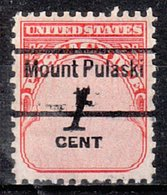USA Precancel Vorausentwertung Preo, Locals Illinois, Mount Pulaski 843 - Vereinigte Staaten