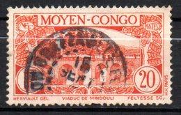 Col 14 /  Congo  N° 119 Oblitéré Cote   8,00 € - Oblitérés