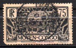 Col 14 /  Congo  N° 126 Oblitéré Cote   10,50 € - Oblitérés