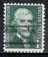 USA Precancel Vorausentwertung Preo, Locals Illinois, Mount Sterling 848 - Vereinigte Staaten