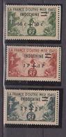 INDOCHINE        N°  YVERT  :  296/98     NEUF AVEC  CHARNIERES      ( Ch 2/12  ) - Indochina (1889-1945)