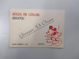 Articoli Cotillons Giocattoli Giuseppe Di Chiara Topolino Corso Umberto I Napoli Cartoncino - Italie