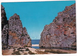 Mallorca - Sa Calobra - Desembocadura Y Playa Del Torrente De Paries - (Baleares, Espana/Spain) - Mallorca