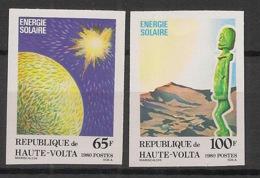 Haute Volta - 1980 - N°Yv. 517 à 518 - Energie Solaire - Non Dentelé / Imperf. - Neuf Luxe ** / MNH / Postfrisch - Protection De L'environnement & Climat
