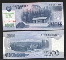 KOREA NORTH  2000 2018г UNC - Korea, North