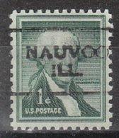 USA Precancel Vorausentwertung Preo, Locals Illinois, Nauvo 701 - Vereinigte Staaten