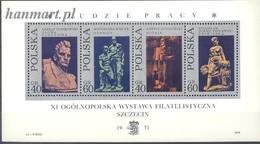 Poland 1971 Mi Bl 46 MNH ( ZE4 PLDbl46 ) - Agricultura