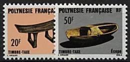 Polynésie, Taxe N° 8 à N° 9** Y Et T - Timbres-taxe