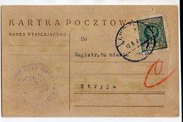 Poland Ukraine Lwow Lemberg 1924 - 1919-1939 Republic
