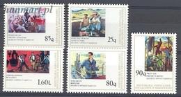 Albania 1978 Mi 1953-1957 MNH ( ZE2 ALB1953-1957 ) - Albania