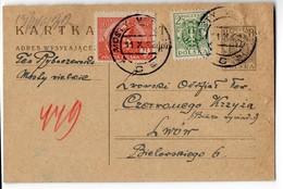 Poland Ukraine Mosty Wielkie 1922 - 1919-1939 Republic