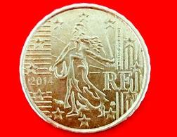 FRANCIA - 2014 - Moneta - Seminatrice - Euro - 0.10 - Francia