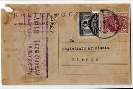 Poland Ukraine Lwow 1923 - 1919-1939 Republic