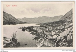 CATTARO - KOTOR:  VISIONE  GENERALE  -  FP - Montenegro