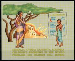 Somalia, 1993, Red Cross, Red Crescent, Children's Aid, MNH, Michel Block 28 - Somalie (1960-...)