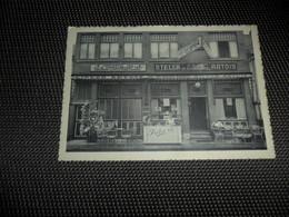 """Montaigu  Scherpenheuvel   Huis R. Van Den Berghe - Adriaens  Café """" De Nieuwe Engel """" - Scherpenheuvel-Zichem"""