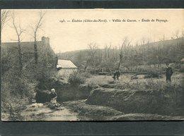 CPA - ETABLES - Vallée De Gacon, Animé - Lavandière - Etables-sur-Mer