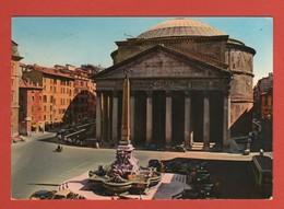 CP20 EUROPE ITALIE ROMA 74 Le Panthéon  Année 1974 - Panthéon