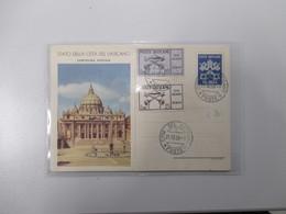 21.10.1958 Cartolina Postale L.20 Chiavi + Valori Sede Vacante 60 E 25 L. Su Piazza San Pietro - Vaticano