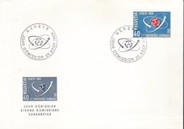 Svizzera - 1958 - 2^ Conferenza Atomica Dell'ONU - N.611 - Busta FDC. - FDC