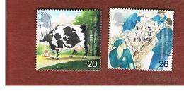 GRAN BRETAGNA.GREAT BRITAIN -  SG 2080.2081  -  1999 MILLENNIUM: PATIENTS' TALE   - USATI - 1952-.... (Elisabetta II)
