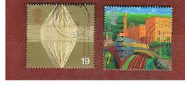 GRAN BRETAGNA.GREAT BRITAIN -  SG 2088.2089  -  1999 MILLENNIUM: WORKERS' TALE   - USATI - 1952-.... (Elisabetta II)