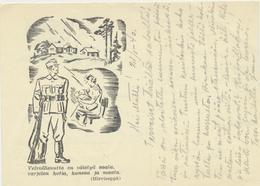 62-266-5 Suomi Finland Finnland Kenttäposti Field Post 1940 - Finlande