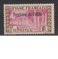 ININI         N°  YVERT  :   44        NEUF AVEC  CHARNIERES      ( Ch 2/13  ) - Inini (1932-1947)