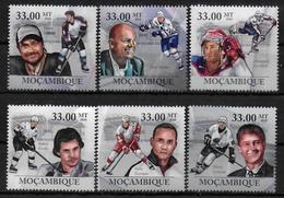 MOZAMBIQUE  N° 3082/87 * * ( Cote 18e ) Hockey Sur Glace - Hockey (sur Glace)