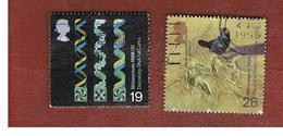 GRAN BRETAGNA.GREAT BRITAIN -  SG 2102.2103  -  1999 MILLENNIUM: SCIENTISTS' TALE   - USATI - 1952-.... (Elisabetta II)