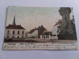 Postkaart Oosterzele  Zicht Op Het Dorp 1903 - België