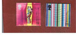 GRAN BRETAGNA.GREAT BRITAIN -  SG 2119.2120  -  1999 MILLENNIUM: ARTISTS' TALE   - USATI - 1952-.... (Elisabetta II)