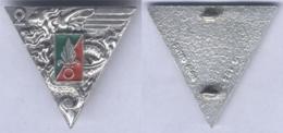 Insigne Du 2e Régiment Etranger Parachutiste - En Argent - Armée De Terre