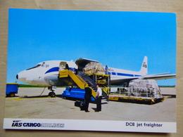 IAS CARGO AIRLINES  DC 8    AIRLINE ISSUE / CARTE COMPAGNIE - 1946-....: Era Moderna