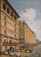 "CPSM - SAN MARINO - Hôtel Restaurant ""TITANO"" (carte Illustrée) - Saint-Marin"
