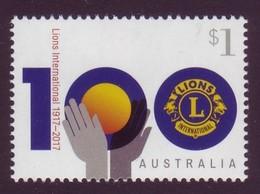 AUSTRALIA • 2017 • Centenary Of Lions Clubs International • MNH (1) - Mint Stamps