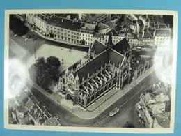 CPSM Bruxelles (Vue Aérienne) Eglise N-D De La Victoire - Panoramische Zichten, Meerdere Zichten