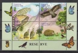 Tajikistan Tadschikistan MNH** 2018 RCC Nature Reserve   Mi 820-23 Zd A - Tadschikistan