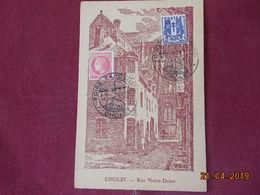 Carte De 1946 ( Foire Exposition De Cholet) - Storia Postale