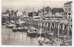 GRANDCAMP - Les - BAINS, Bateaux De Pêche Format 9x14 - Bon état - France