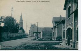 SAINT SIMON, Près Flavy-le-Martel , Rue De La Gendarmerie - Bon état - Otros Municipios